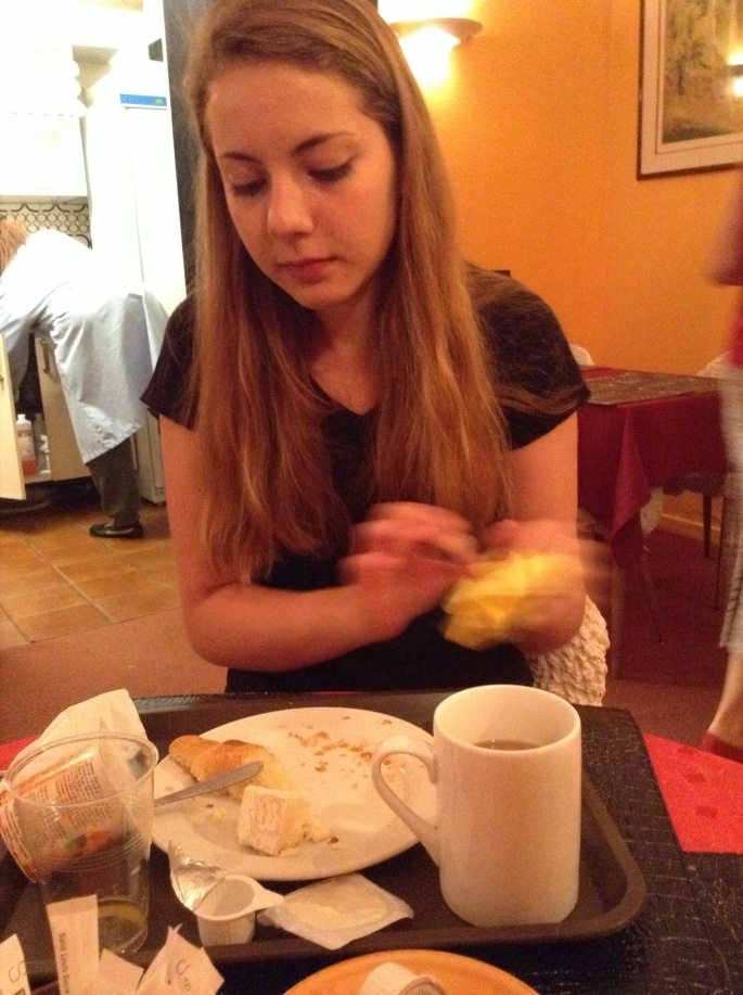 Breakfast at Hotel Corail